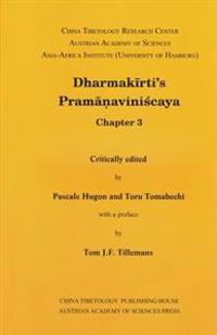 Dharmakirti's Pramanaviniscaya Chapter 3