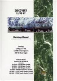 Brooklands Land Rover Discovery 1995-98 Official Workshop Manual