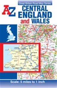 Central england & wales road map