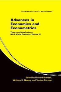 Econometric Society Monographs Advances in Economics and Econometrics: Series Number 43
