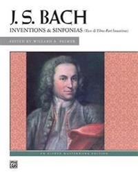Bach -- Inventions & Sinfonias: Two- & Three-Part Inventions