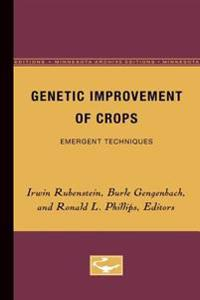 Genetic Improvement of Crops