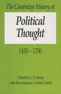The Cambridge History of Political Thought, 1450-1700