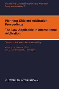 Planning Efficient Arbitration Proceedings