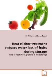 Heat Elicitor Treatment Reduces Water Loss of Fruits During Storage