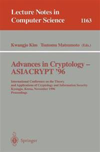 Advances in Cryptology - ASIACRYPT '96