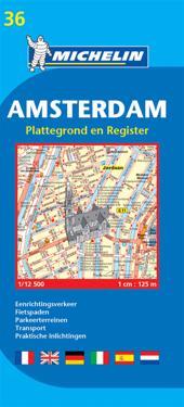 Michelin Map Amsterdam #36