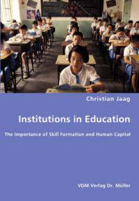 Institutions in Education