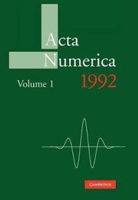 Acta Numerica Acta Numerica 1992: Series Number 1