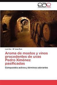 Aroma de Mostos y Vinos Procedentes de Uvas Pedro Ximenez Pasificadas