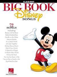 Big Book of Disney Songs: Clarinet