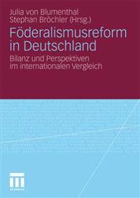 Föderalismusrefurm in Deutschland