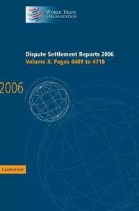 Dispute Settlement Reports 2006