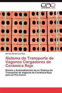 Sistema de Transporte de Vagones Cargadores de Ceramica Roja