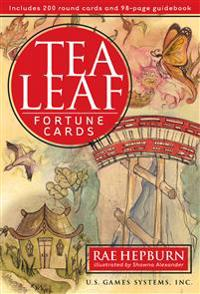 Tea Leaf Fortune Cards (Book & 200 Round Cards)