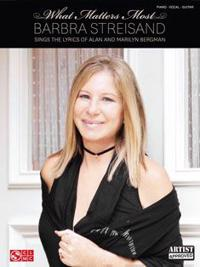 Barbra Streisand What Matters Most