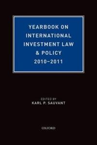 Yearbook on International Investment Law & Policy 2010-2011