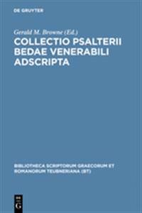Collectio Psalterii Bedae Venerabili Adscripta