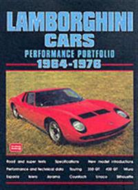 Lamborghini 1964-1976 -performance Portfolio