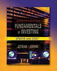 Fundamentals of Investing, Update