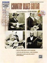 Country Blues Guitar [With CD (Audio)]