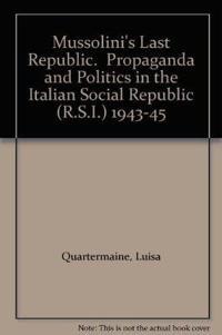 Mussolini's Last Republic