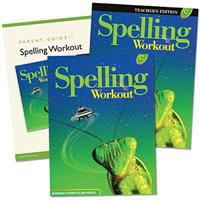 Spelling Workout Homeschool Bundle Level C Copyright 2002 [With Parent Guide and Teacher's Guide]