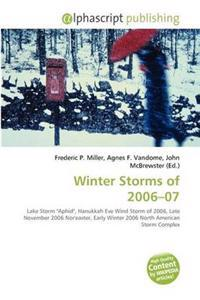 Winter Storms of 2006-07