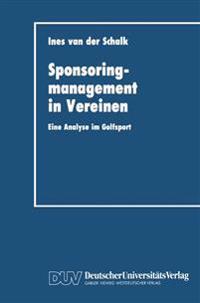 Sponsoringmanagement in Vereinen