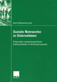 Soziale Netzwerke in Unternehmen: Potenziale Computergestützter Kommunikation in Arbeitsprozessen