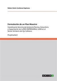Formulacion de Un Plan Maestro