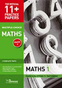 11+ Practice Papers, Maths Pack 2 (Multiple Choice)