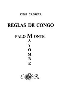 Reglas De Congo