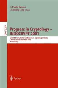 Progress in Cryptology - INDOCRYPT 2001