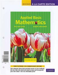 Applied Basic Mathematics, Books a la Carte Plus MML/Msl (for Ad Hoc Valuepacks) -- Access Card Package