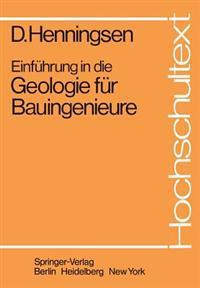 Einfuhrung in Die Geologie Fur Bauingenieure