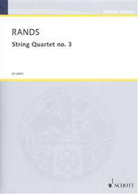 String Quartet No. 3: Score and Parts