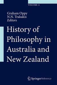 History of Philosophy in Australia and New Zealand