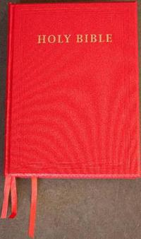 New Revised Standard Version Red Imitation Leather Lectern Edition