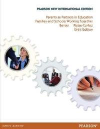 Parents as Partners in Education: Pearson New International Edition