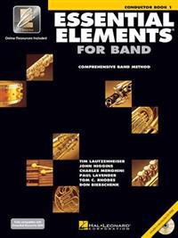 Essential Elements for Band - Book 1 with Eei: Conductor [With CDROM]