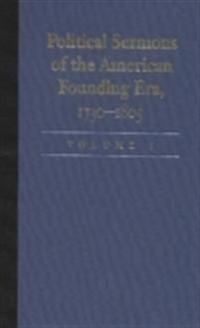 Political sermons of the american founding era, 1730-1805