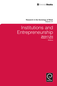 Institutions and Entrepreneurship