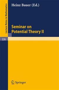 Seminar on Potential Theory II