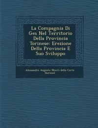 La Compagnia Di Ges Nel Territorio Della Provincia Torinese: Erezione Della Provincia E Suo Sviluppo