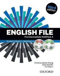 English File Third Edition: Pre-Intermediate: Multipack A with iTutor and iChecker