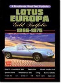 Lotus Europa Gold Portfolio 1966-75
