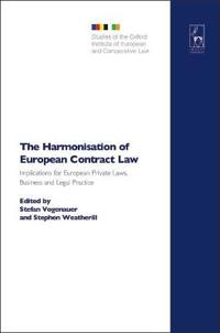 The Harmonisation of European Contract Law