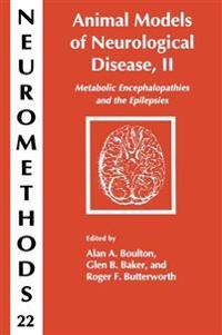 Animal Models of Neurological Disease, II