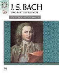Bach -- Two-Part Inventions: Book & CD